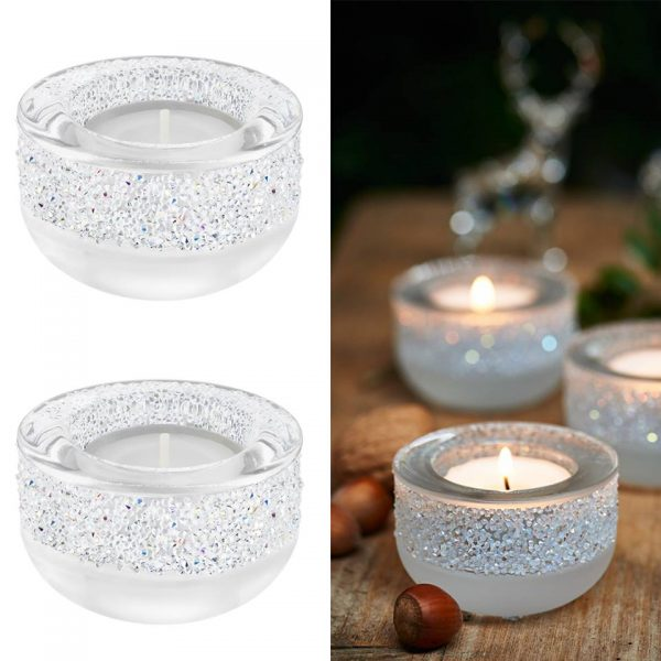 photophore swarovski shimmer tea lights