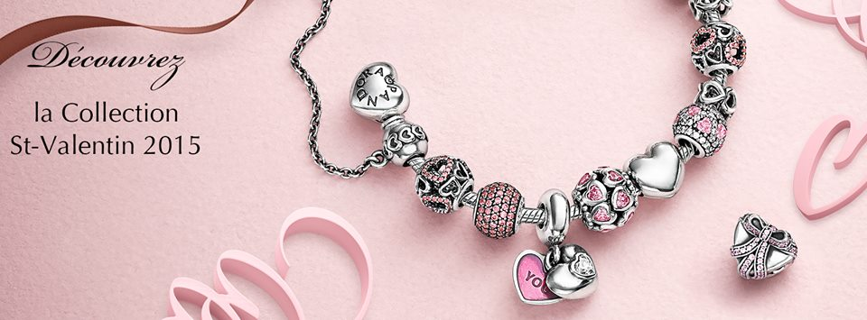 collection saint valentin 2015 pandora