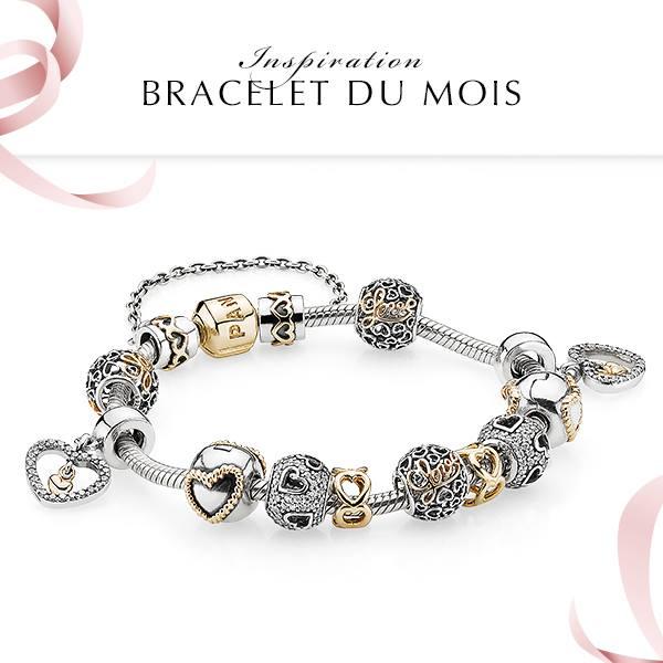 bracelet inspiration du mois pandora