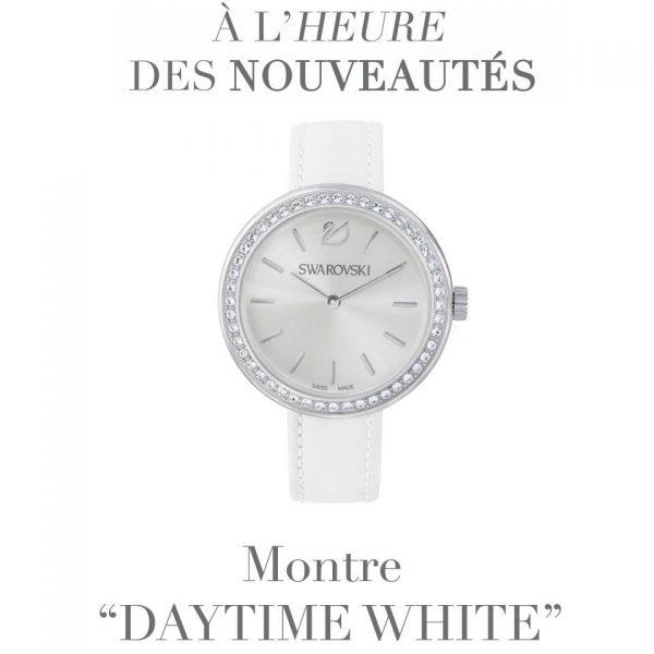 montre daytime white