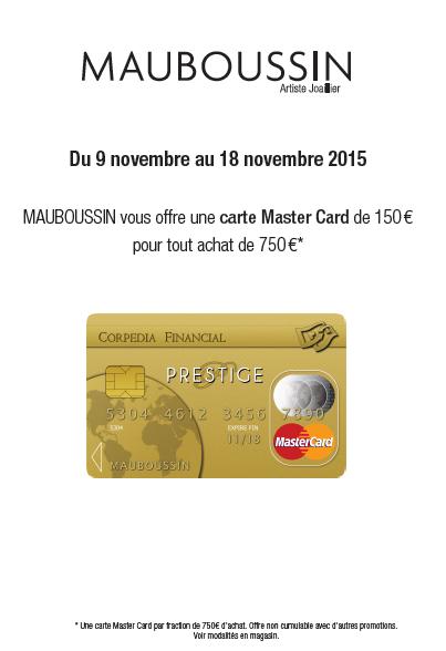 offre mauboussin mastercard